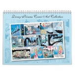Disney Princess Comic Art Collection Calendar