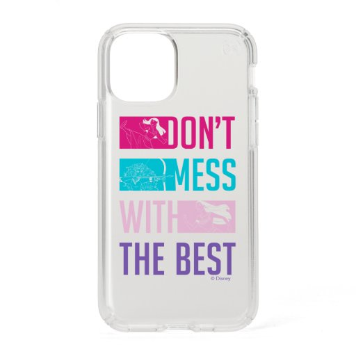 """Disney Princess """"Don't Mess With The Best"""" Speck iPhone 11 Pro Case"""