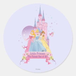 Disney Princess | Dream Castle Classic Round Sticker