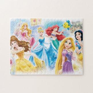 Disney Princess Dreamy Collage Jigsaw Puzzle