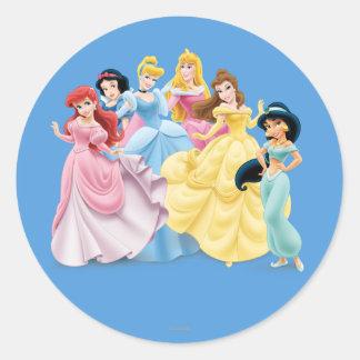 Disney Princess | Dressed to Impress Classic Round Sticker