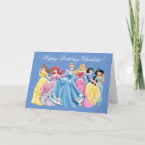 Disney Princess | Happy Birthday Card
