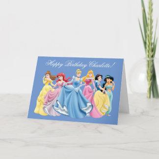 Greeting cards zazzle disney princess happy birthday card m4hsunfo