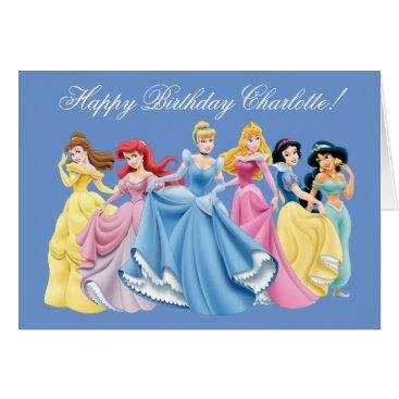 disney Disney Princess | Happy Birthday Card