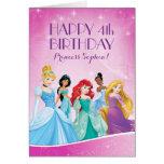 Disney Princess | Happy Birthday Card at Zazzle