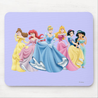 Disney Princess | Holding Dresses Out Mouse Pad