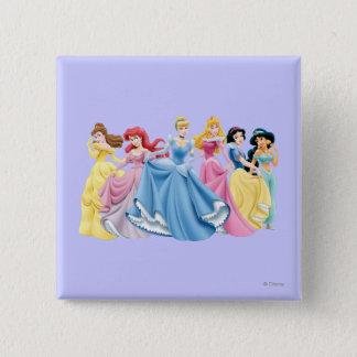 Disney Princess | Holding Dresses Out Pinback Button