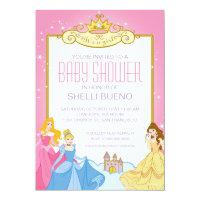 Disney Princess It's a Girl Baby Shower Card