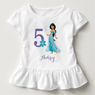 Disney Themed Disney Princess   Jasmine Birthday Toddler T-shirt
