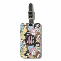 Disney Princess | Monogram Oversized Pattern Bag Tag