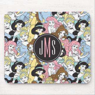 Disney Princess | Monogram Oversized Pattern Mouse Pad