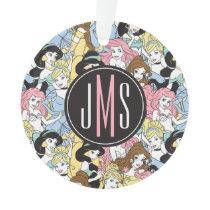 Disney Princess | Monogram Oversized Pattern Ornament