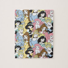 Disney Princess | Oversized Pattern Jigsaw Puzzle