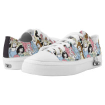 Disney Princess | Oversized Pattern Low-Top Sneakers