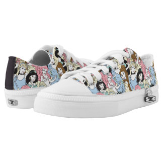 Disney Princess | Oversized Pattern Low-Top Sneakers