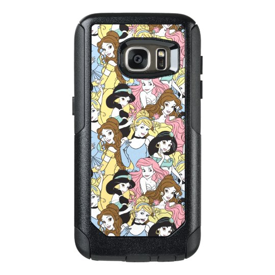 promo code 38812 32a36 Disney Princess | Oversized Pattern OtterBox Samsung Galaxy S7 Case