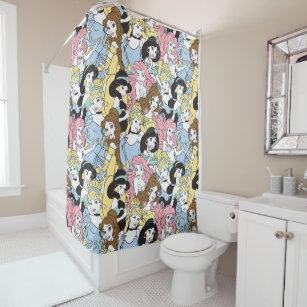 Disney Princess Belle Shower Curtains