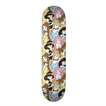Disney Themed Disney Princess | Oversized Pattern Skateboard