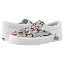 Disney Princess | Oversized Pattern Slip-On Sneakers
