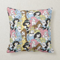 Disney Princess | Oversized Pattern Throw Pillow