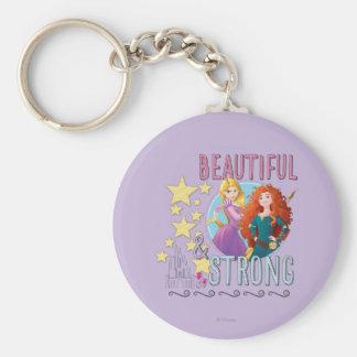 Disney Princess | Rapunzel and Merida Keychain