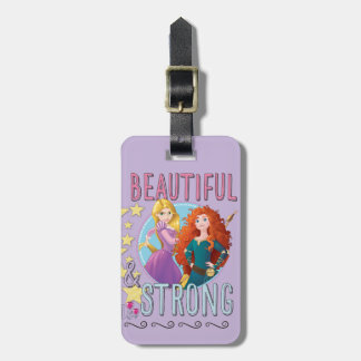 Disney Princess | Rapunzel and Merida Luggage Tag