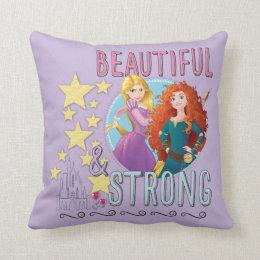 Disney Princess | Rapunzel and Merida Throw Pillow