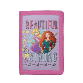Disney Princess | Rapunzel and Merida Trifold Wallet