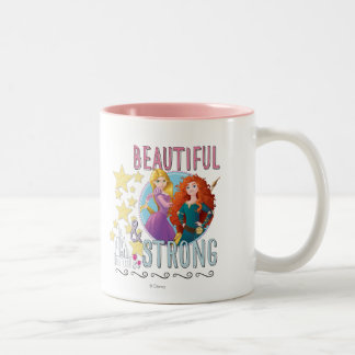 Disney Princess | Rapunzel and Merida Two-Tone Coffee Mug