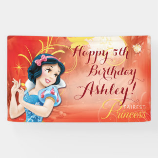 Disney Princess Snow White Birthday Banner