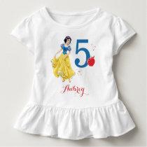 Disney Princess | Snow White Birthday Toddler T-shirt