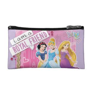 Disney Princess   Snow White, Cinderella, Rapunzel Makeup Bag at Zazzle