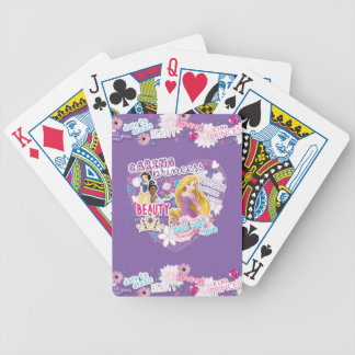 Disney Princess | Snow White, Tiana and Rapunzel Bicycle Playing Cards