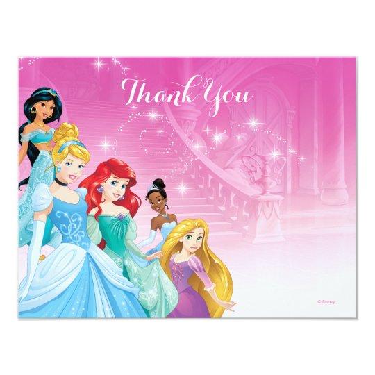 Disney Princess Thank You Birthday Card – Thank You Birthday Cards