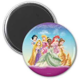 Disney Princess | Tiana Featured Center 2 Inch Round Magnet