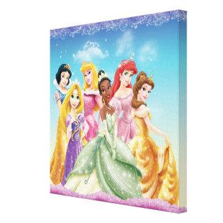 Disney Princess   Tiana Featured Center Canvas Print