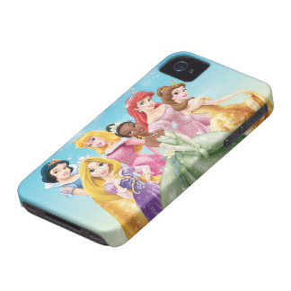 Disney Princess | Tiana Featured Center iPhone 4 Case-Mate Case
