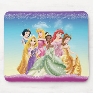 Disney Princess | Tiana Featured Center Mouse Pad