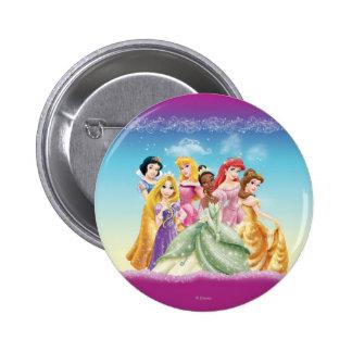 Disney Princess | Tiana Featured Center Pinback Button