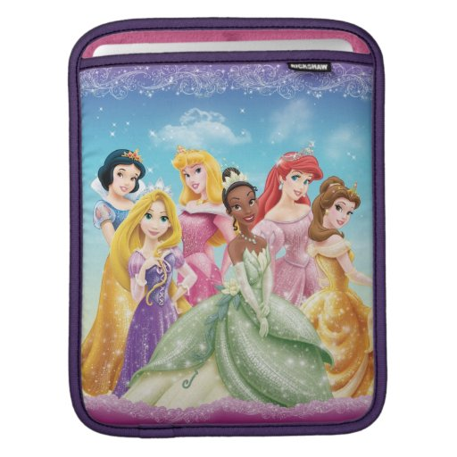 Disney Princess | Tiana Featured Center Sleeves For iPads