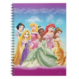 Disney Princess   Tiana Featured Center Spiral Notebook
