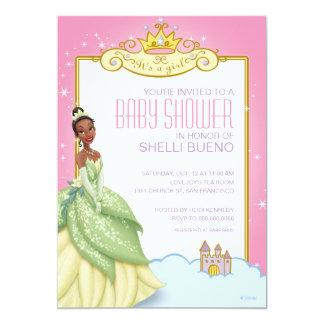 Disney Princess Tiana It's a Girl Baby Shower 5x7 Paper Invitation Card
