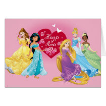 Disney Princess Valentine Card