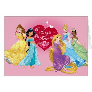 Disney Princess Valentine Card at Zazzle