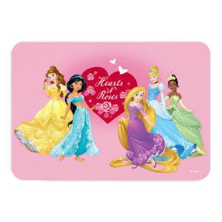Disney Princess Valentine Card