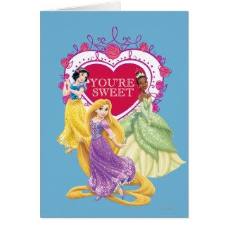 Disney Princess | You're Sweet Card