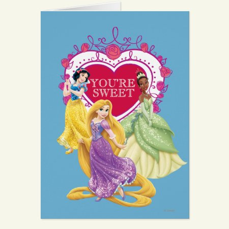 Disney Princess | You're Sweet Card