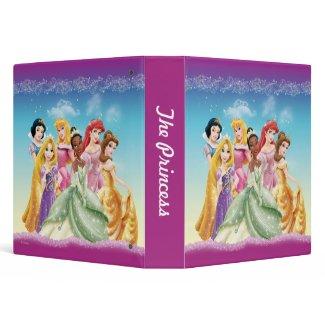 Disney Princesses 10 zazzle_binder