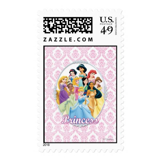 Disney Princesses 11 Stamp