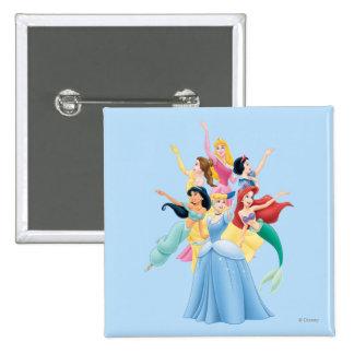 Disney Princesses 2 Pinback Button